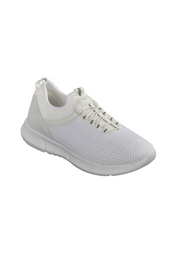 Bestof Bst-059 Beyaz-Beyaz Unisex Spor Ayakkabı Beyaz